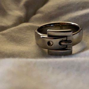 MK Buckle Ring Sz 6
